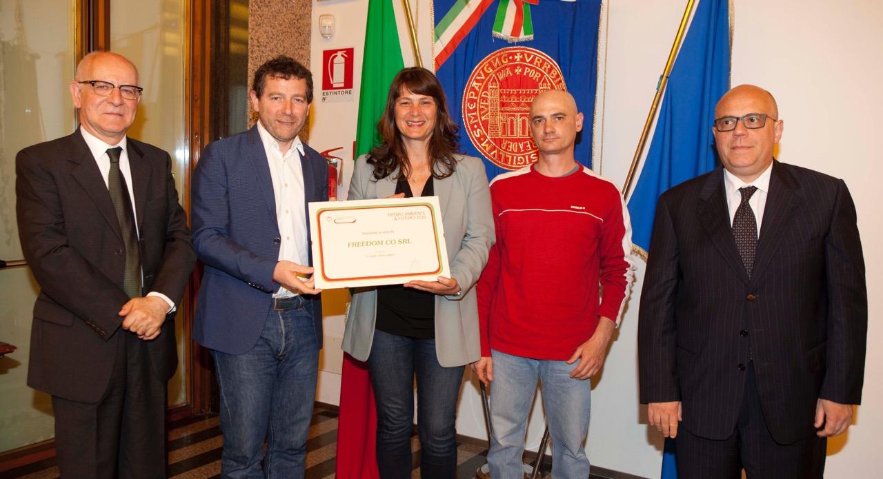 Menzione di Merito Premio Ambiente & Futuro 2016